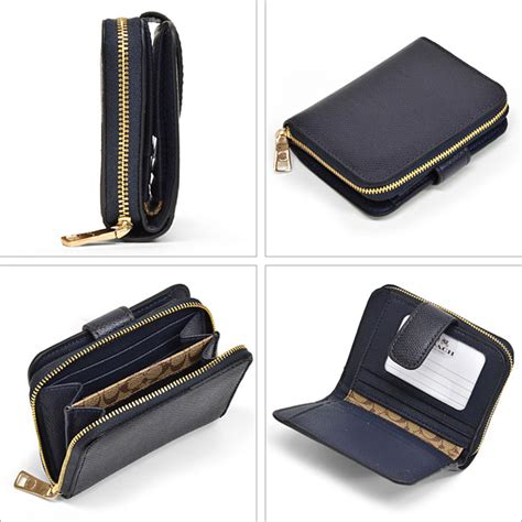 Dompet Pria Coach Wallet Original 12 macalpine rakuten global market coach coach cross grain leather medium zip around wallet