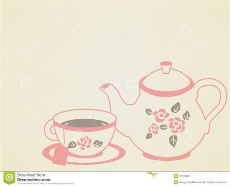 Vintage Tea Pot Set Royalty Free Stock Photography   Image: 31128337