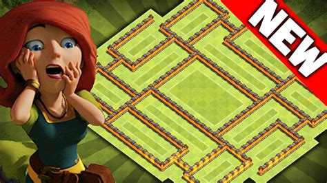 Coc Clash Of Clams 27 Tx clash of clans new update th8 farming base coc epic town 8 hybrid trophy base