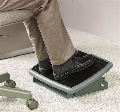 desk foot rest 3m adjustable foot rest 18 inch wide non