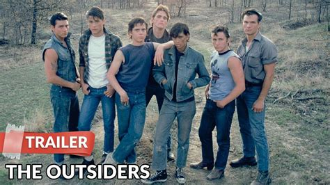 the outsiders film starring c thomas howell matt the outsiders 1983 trailer hd c thomas howell matt