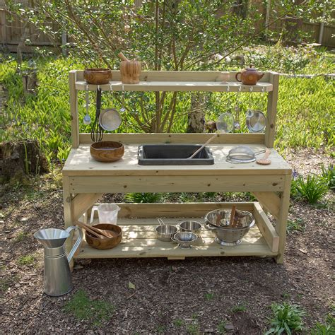 Kitchen Designs For Small Kitchens by Buy Outdoor Messy Play Wooden Mud Kitchen Tts