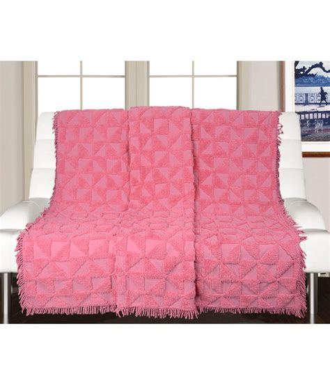 Single Sofa Cover Saral Home 5 Seater Cotton Single Sofa Cover Set Buy