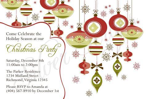 christmas invitations design elements ai svg eps vector free