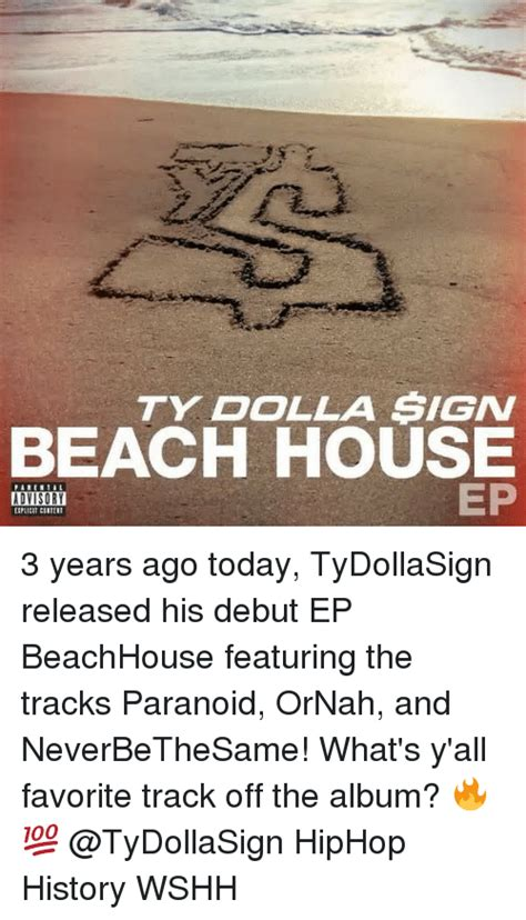 Ty Dolla Sign Beach House 2 Tracklist 68463 Vizualize Ty Dolla Sign House 2