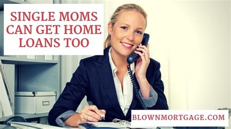 single mother housing loans single moms can get home loans too