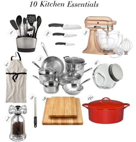 kitchen essential 10 kitchen essentials