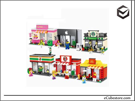 Harga Lego by Lego Hsanhe Lego Compatible Mini City Building