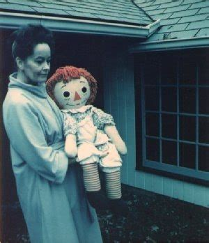 annabelle doll lorraine warren the strange career of the conjuring demonologists