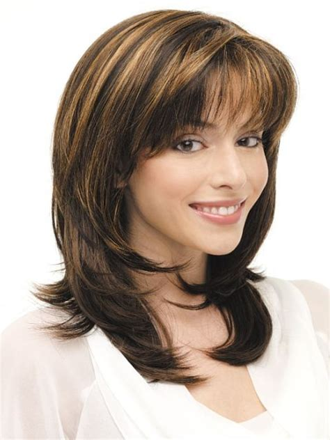 striking haircuts 16 striking layered hairstyles for medium length hair