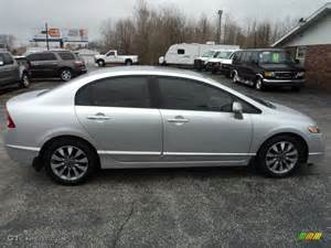 alabaster silver metallic 2009 honda civic ex sedan
