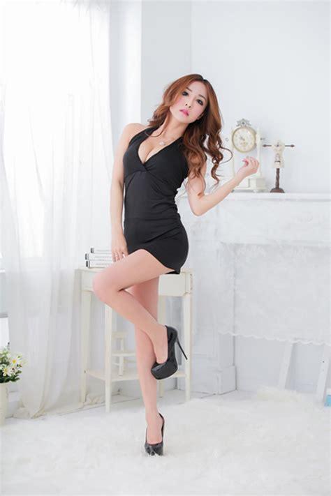 Diskon Kostum Costume Lingeri jual baju tidur murah murah baju tidur cewek mini dress black 57f20 di
