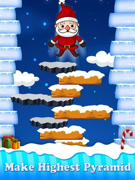 christmas santa claus jump  adventure game