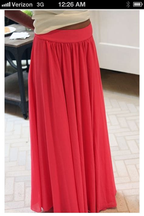 maxi skirt diy crafts
