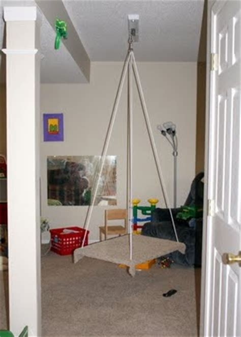 indoor swing for autistic child 17 best images about basement fix up on pinterest indoor