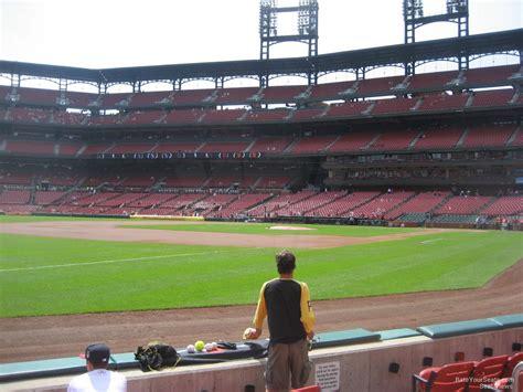busch stadium section 163 busch stadium section 163 rateyourseats com