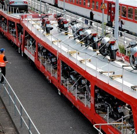 Motorrad Zug Hamburg by Biker In Der Bahn Warum Motorradfahrer Gern Mit Dem Zug