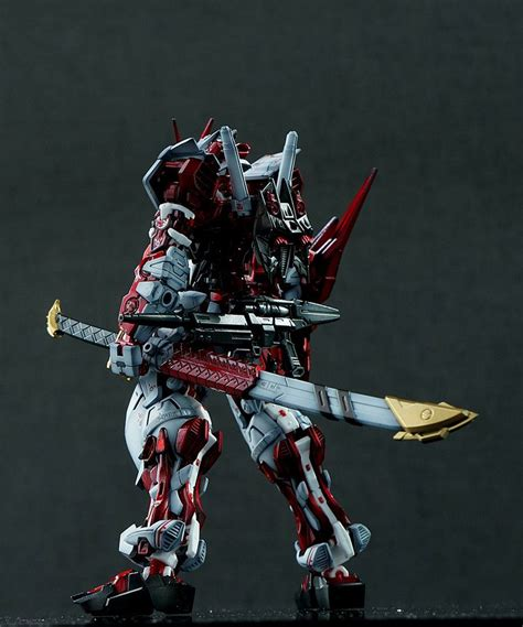 Gundam Mobile Suit 57 gundam rg 1 144 astray frame sengoku customized