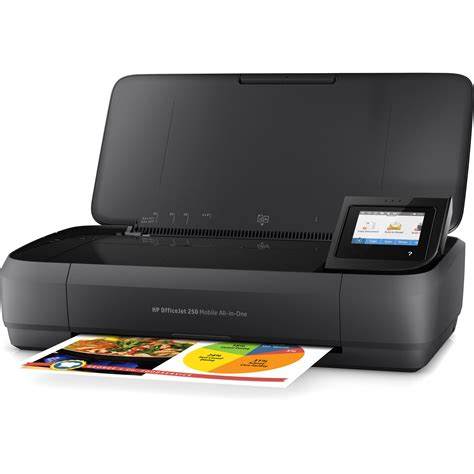 Priinter Portable Hp Mobile All In One Printer Officejet Oj 250 Resmi hp officejet 250 mobile all in one inkjet printer cz992a b1h b h