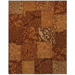 Mohawk Area Rugs Home Depot by Mohawk Afton Copper 10 Ft X 13 Ft Area Rug Discontinued