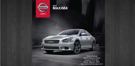 Swope Hyundai by Sam Swope Hyundai 2013 Nissan Maxima Brochure Tx