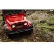 Mahindra Thar Facelift Red 1  CarBlogIndia