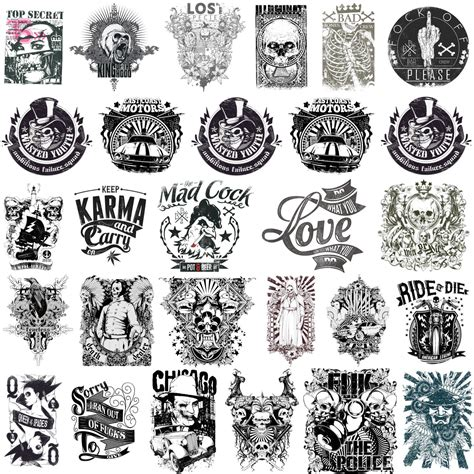 tattoo ideas vector scary t shirt designs or tattoos with skulls bad bones