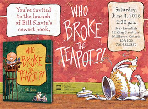 bill s books the world broke in two nbc new york canlit for littlecanadians who broke the teapot book