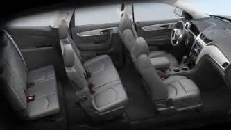 Chevrolet Traverse Seating 2014 Traverse Vs Honda Cr V In Burlington Nj