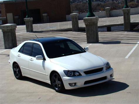 white lexus is300 slammed ut fs 2001 lexus is300 white pearl on black