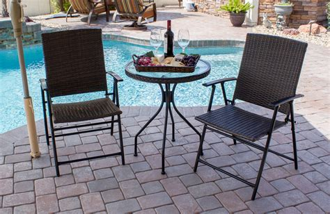 brown wicker patio set outdoor patio products