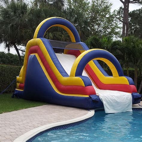 backyard water slides inflatable backyard water slides