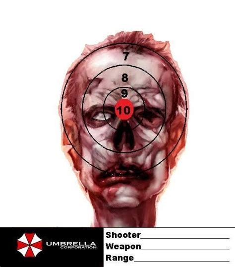 zombie paper targets printable 51 best targets images on pinterest revolvers weapons