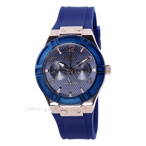 harga sarap jam tangan guess u0571l1 karet biru
