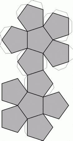 imagenes geometricas para armar figuras geometricas para armar dibujo de pentaedro para