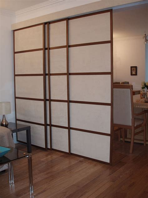 room divider sliding panels easy diy room divider to create a multipurpose room