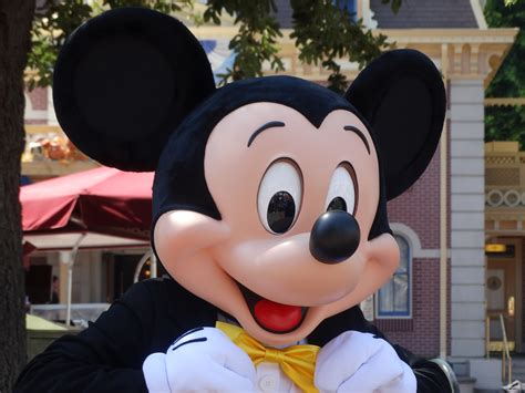disneyland mickey new look for mickey mouse as part of disneyland s