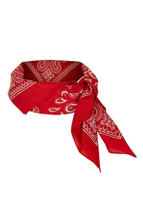 paisley print neckerchief topshop