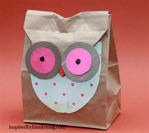 Owl Paper Bag Craft - 1000 images about crafts on paper bag crafts