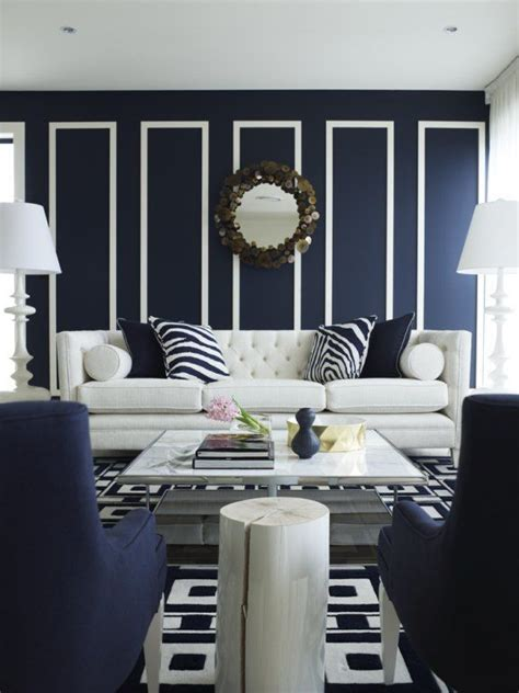 Blue And White Living Room Decorating Ideas Unique Blue And White Living Room Design Ideas Decozilla