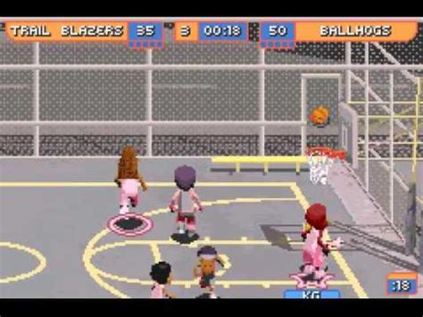 backyard basketball gba backyard basketball gba vizzed com gameplay