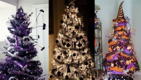 halloween christmas trees are the new festive trend