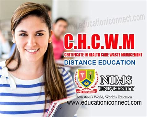 Mba In Health Administration Distance Learning by Mba Distance Education Nims Mba Hr