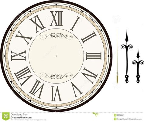 clock templates for printing free clock templates for printing free template design