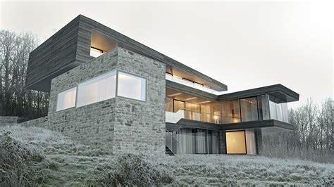 Haus Mit Steinfassade by Haus H Di Zt Gurmann Architektur