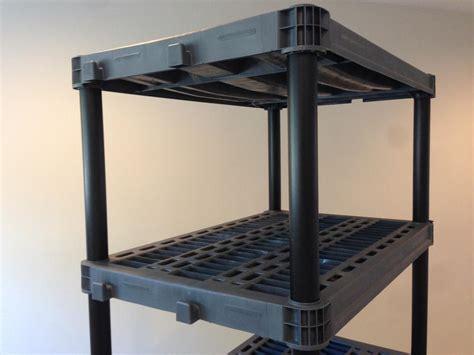 35 plano 5 tier free standing shelving unit