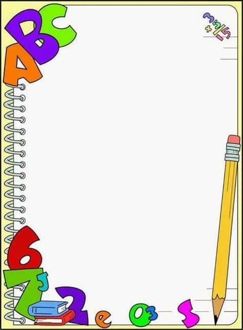 imagenes de utiles escolares para recortar 1509 best images about bordes pergaminos y etiquetas on
