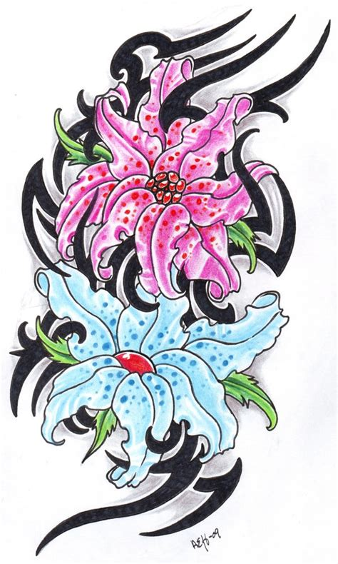 flower designs for tattoos cliparts co pics of flowers tattoos cliparts co