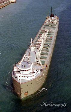 Largest Ship To Sink In The Great Lakes by The Ss Edmund Fitzgerald Was An American Great Lakes