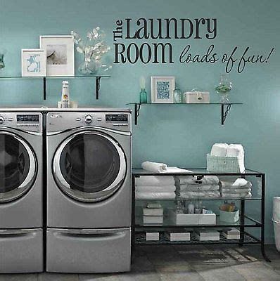 molotilo decoration product sponsored laundry room designs the laundry room loads of fun quote vinyl wall decal